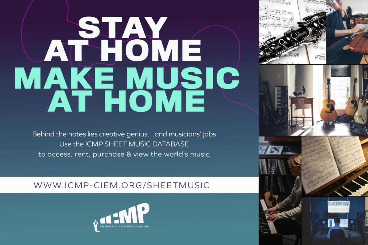 ICMP Sheet Music Database